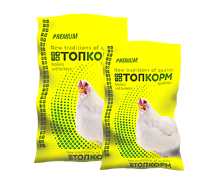 Combine feed for broilers from 0 to 6 days (pre-starter)