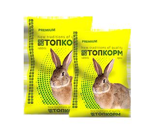 Комбікорм для кролематок та молодняку до 45 дня